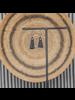 OraTen Montana Agate Tassel Earrings - Black