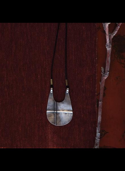 OraTen Cross Silver Pendant