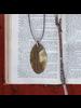 OraTen Leaf Brass Pendant