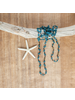 OraTen Fishing Line Necklace - Blue & Black