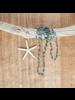 OraTen Fishing Line Necklace - Blue & Orange
