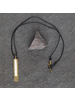 OraTen Circ Brass Necklace, Bar - Antler