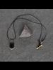 OraTen Circ Silver Necklace, Arch - Horn