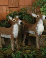 HomArt Felt Reindeer - Woodland Doe - Brown