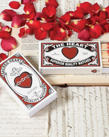 HomArt Valentine's Day Promotion Free Box of Heart Matches with $15 Purchase