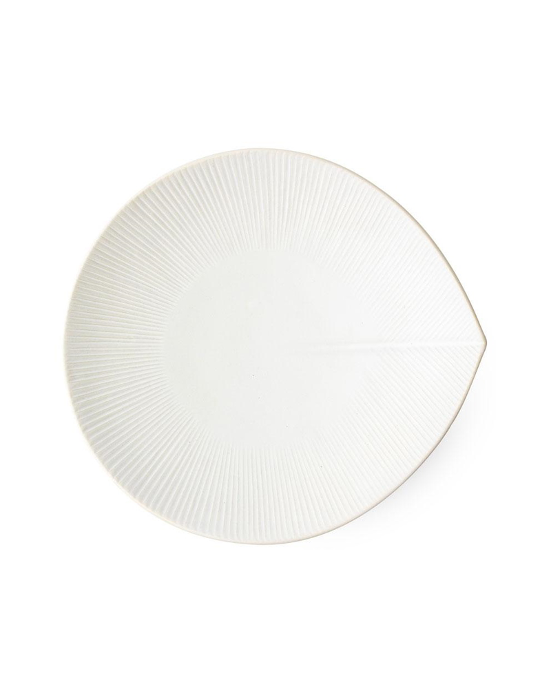 Miya Company Large Leaf Plate