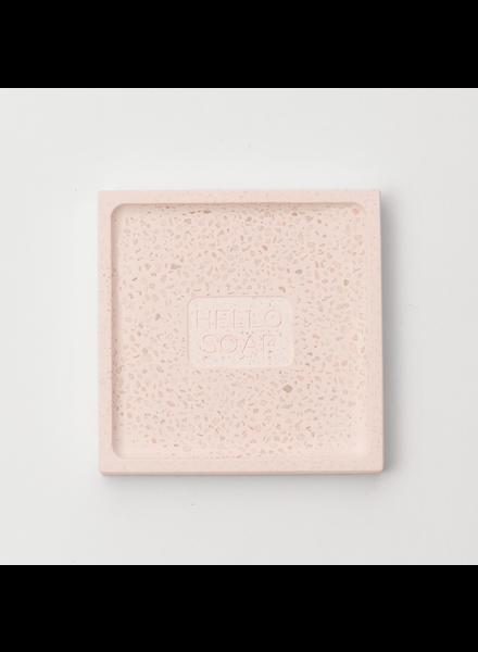 Pink Hello Soap Dish