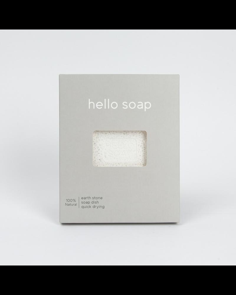 Grey Hello Soap Dish