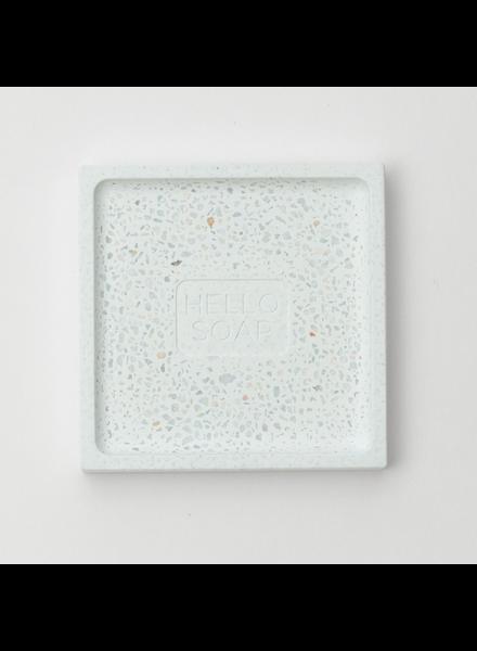 Blue Hello Soap Dish