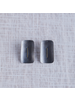 OraTen Ives Post Earring - Rectangle, Silver