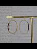 OraTen Aurora Earring - Oval with Stones, Garnet