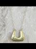 OraTen Yucca Necklace - Trapezoid, Lrg, Brass