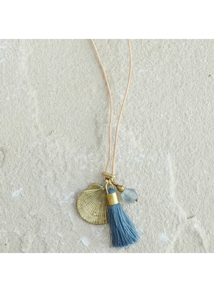 OraTen Charm Necklace - Ocean