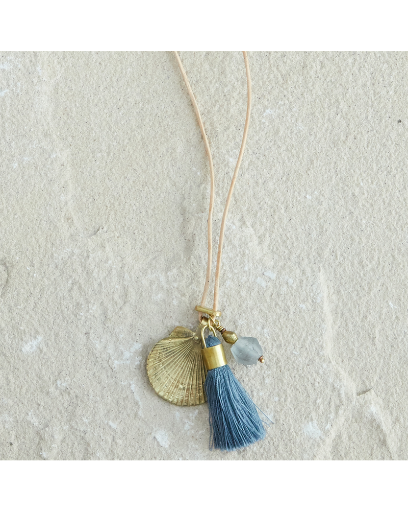 OraTen Charm Necklace - Ocean