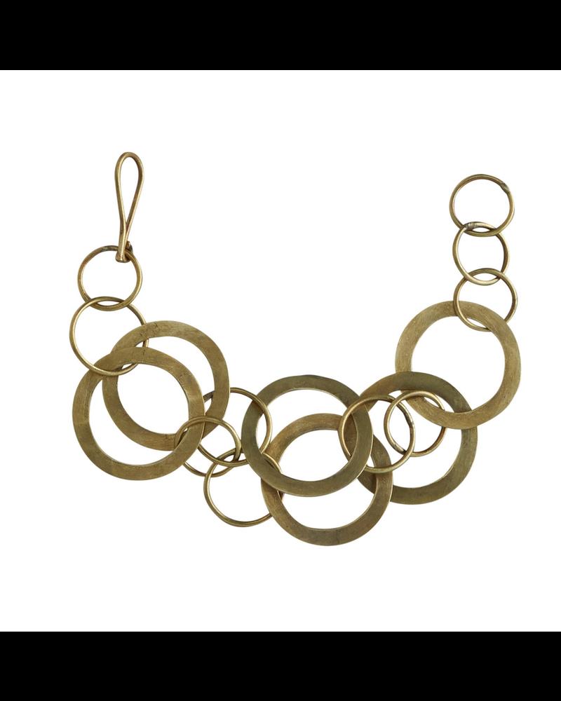 OraTen Moran Bracelet, Brass