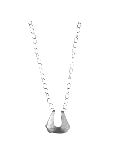OraTen Yucca Necklace - Trapezoid, Sm, Silver