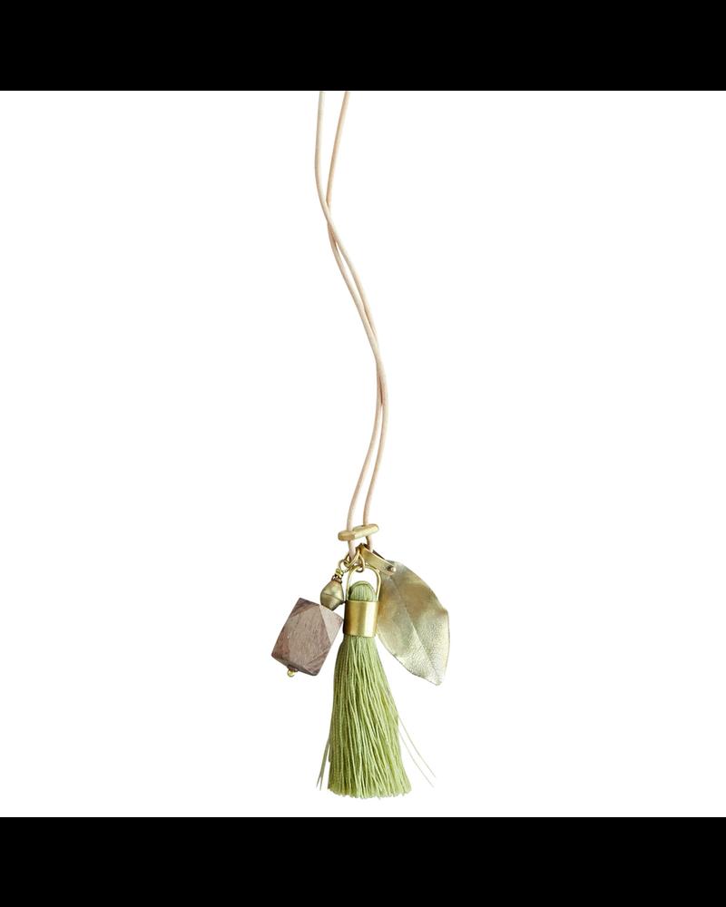 OraTen Charm Necklace - Garden