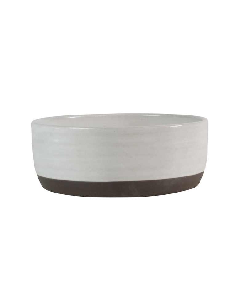 HomArt Medium Liam Ceramic Bowl - Partial Glaze