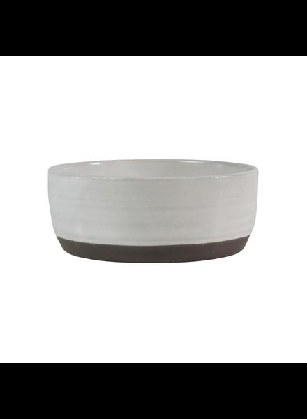 HomArt Small Liam Ceramic Bowl - Partial Glaze