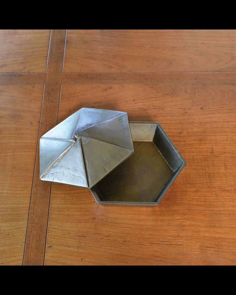 HomArt Hans Box, Brass - Lrg