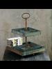 HomArt Merchant Stand - Antique Galvanized