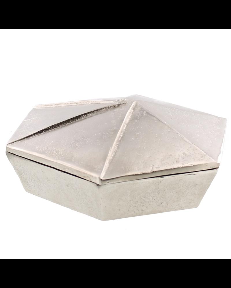 HomArt Hans Box, Nickel - Lrg