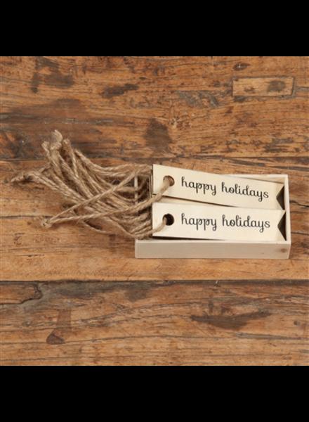 HomArt Amaryllis Snowflake Match Box with Wooden Matches