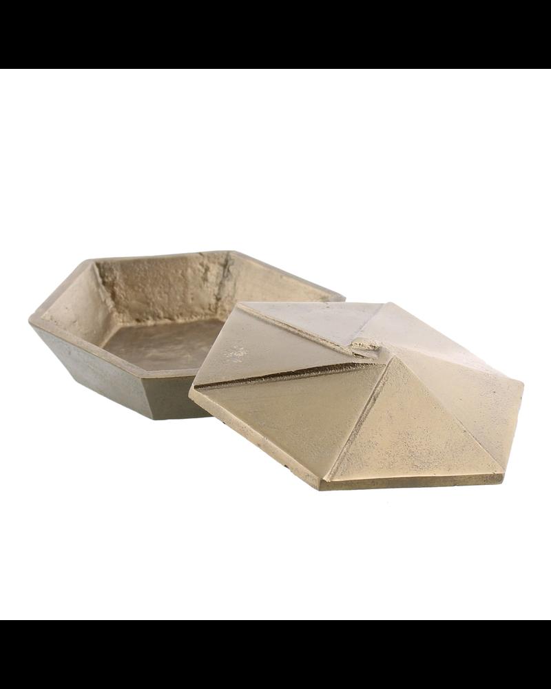 HomArt Hans Box, Brass - Sm