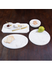 HomArt Mercer Cheese Board, Marble - Round