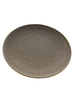 HomArt Tiburon Plate, Ceramic - Light Grey Glaze