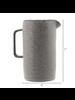HomArt Tiburon Pitcher, Ceramic - Lrg - Light Grey Glaze