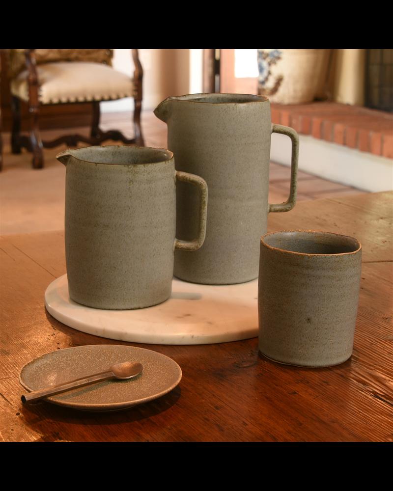 HomArt Tiburon Cup, Ceramic - Light Grey Glaze