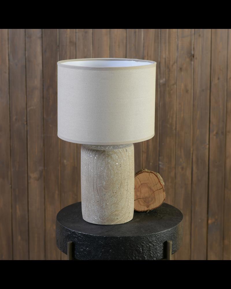 HomArt Arbol Table Lamp, Cement