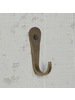 HomArt Forged Hook, Iron - Brass - Set of 2
