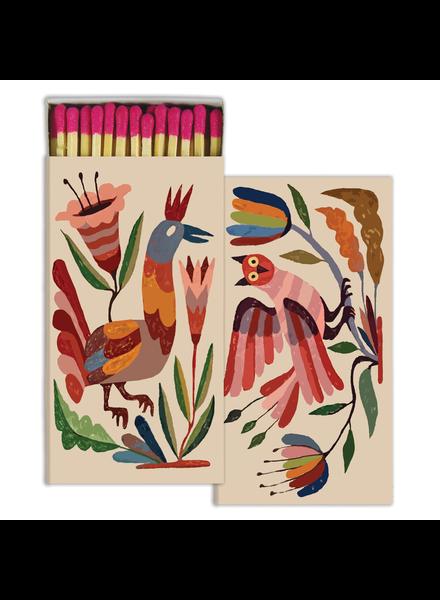 HomArt Mexican Birds HomArt Matches - Set of 3 Boxes