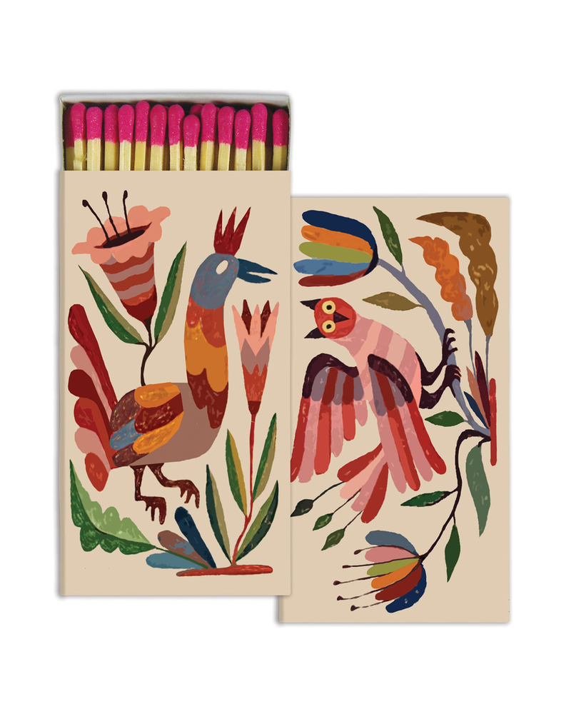 HomArt Mexican Birds HomArt Matches - Set of 3 Boxes