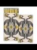 HomArt Crested Cranes HomArt Matches - Set of 3 Boxes