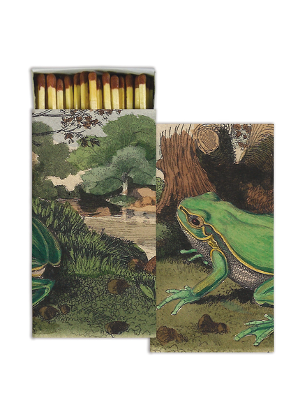 HomArt Landscape with Frog HomArt Matches - Set of 3 Boxes