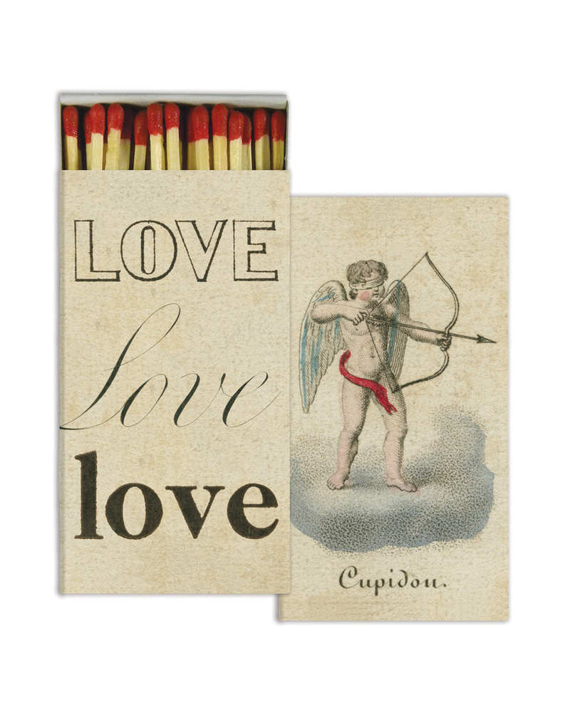 HomArt Cupid & Love HomArt Matches - Set of 3 Boxes