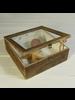 HomArt Bungalow Display Case, Wood