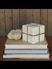 HomArt Aperture Cube, Brass & Marble