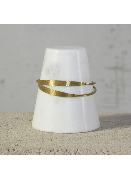 HomArt Truncated Cone Bracelet Holder, Marble - Lrg