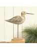HomArt Kelso Wood Seagull - Sandpiper - Navy & Natural Wood