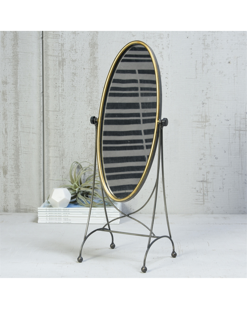 HomArt Archer Vanity Mirror, Oval