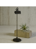 HomArt Bookkeepers Clip on Stand, Metal - Lrg - Black