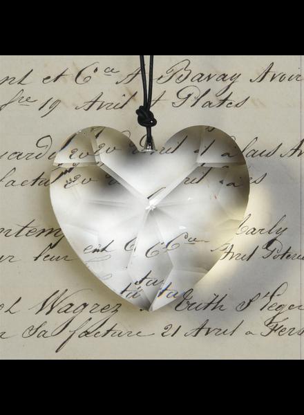 HomArt Glass Heart Prism - Set of 2