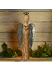 HomArt Angel with Heart, Wood & Metal - Sm