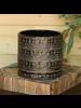 HomArt Dark Brown Ceramic Cusco Cachepot - Lrg