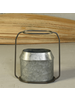 HomArt Napa Vase, Metal & Zinc - Oval, Sm - Zinc