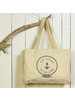 HomArt Beach Tote, Canvas - The Ocean Is Calling